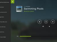 Audio player playlist