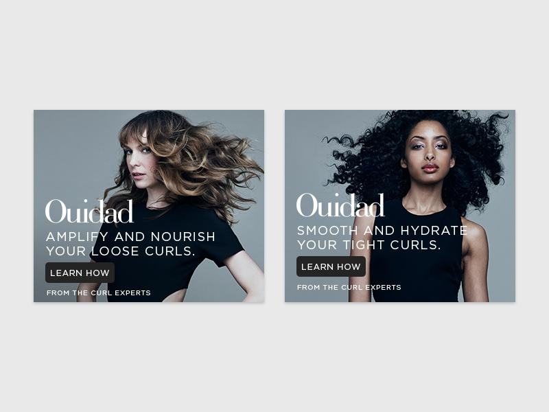 Ouidad static banners