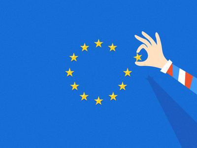 Brexit Results vector illustration europe eu britain brexit