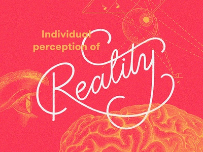 Reality typography type sketch reality mood lettering