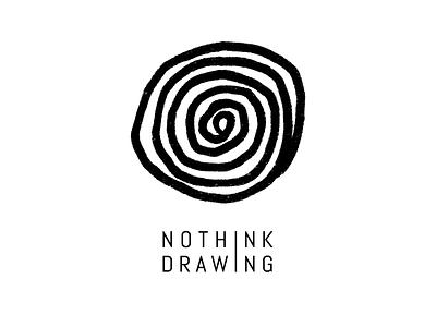 NOTHINK DRAWING Logo brand design design illustration symbol identity logotype branding brand logo