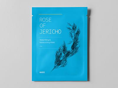 ROSE OF JERICHO - Prototype 01 package jericho rose mask beauty cosmetic product prototype