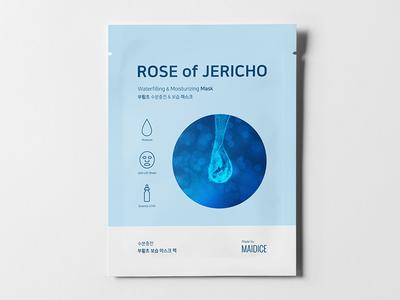 ROSE OF JERICHO - Prototype 02 prototype product cosmetic beauty mask rose jericho package