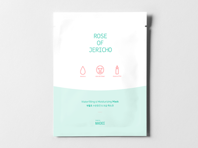 ROSE OF JERICHO - Prototype 03 prototype product cosmetic beauty mask rose jericho package