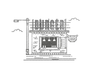 Burger Joint bbq american shop streetfood fast food hamburger