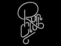 Run Club Neon Sign