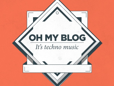 Oh my blog logo logo logotype omb