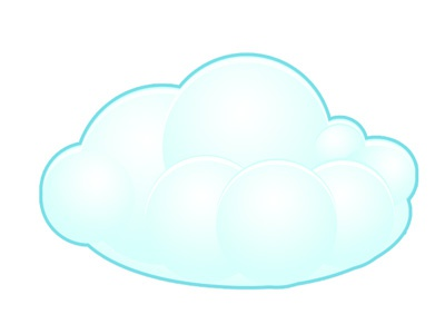 Cloud cloud icon