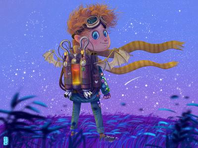 B612 illustration artist illustrator dribbbler dribbble digitalpaint digital painting illustration design digital art digital illustration character design art work