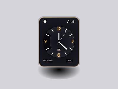 clock watch app design smart clock design ui kits app design clock app design ui design smart watch app