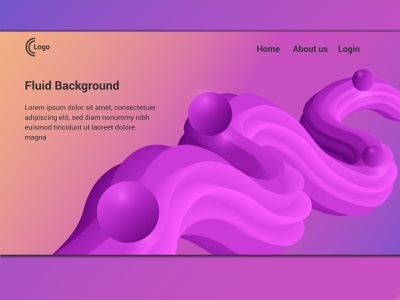 Fluid Background branding illustration fluid background illustrator background design web site website design app