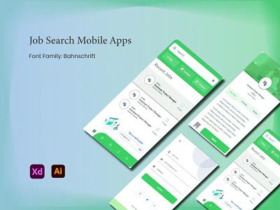 HV Job Search Mobile app popular uiux dribbble search hire ui design mobile ui popular shot job search jobs job finder popular design job listing job application job portal