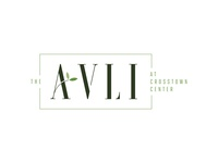 The Avli leaves apartment logo design visual identity illustration brand identity orlando logo branding design