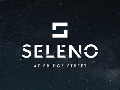 Seleno at Bridge Street Logo space brand identity modern logo design residential branding logo design