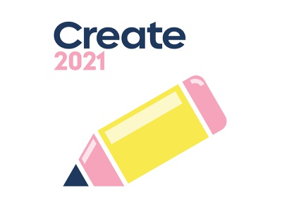 2021 Resolutions – Create art pencil create 2021 resolutions new years retro fun orlando cute illustration design