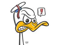 An Ornery Duck