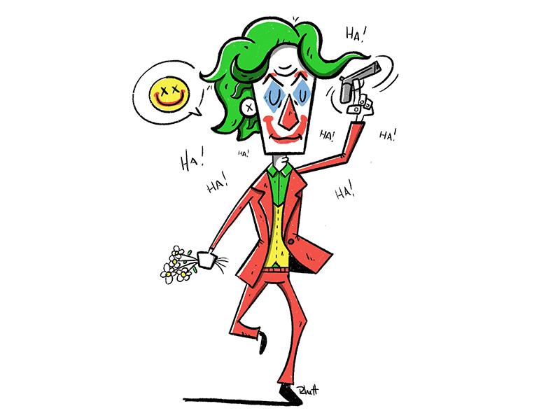 Joker 2019 By Rhett Withey On Dribbble