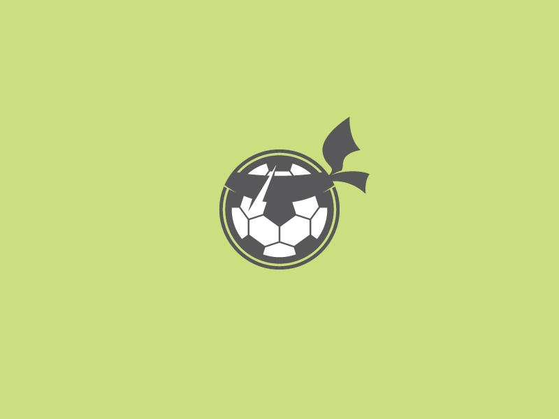 Soccer Warrior soccer lion vector logo symbol icon