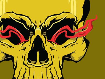 Skull skull vector