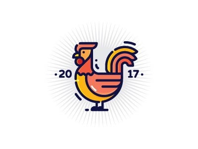 Rooster 2017 2017 rooster vector logo symbol icon