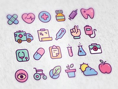 Koloro Icons v1.0 swirls classy design minimal logo
