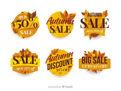 Autumn Labels discount sale label autumn
