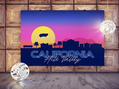 California Poster Mockup design vector new psd mockup illustration ui 3d animation branding logo motion graphics graphic design nice amazing latest stylish mockup poster califronia free