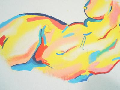 Invidia canvas art painting