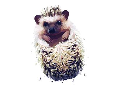 Low Poly Glitch Hedgehog