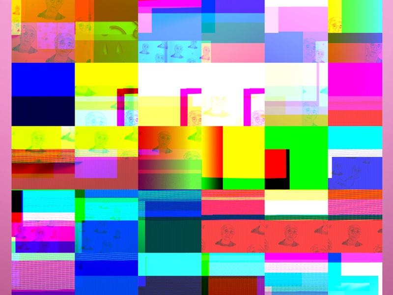 pretty funked up wip glitch bugging out gradients