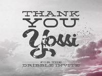 Thank You Yossi