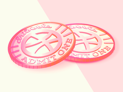 Two Cents illustration vector penny two cents invite dribbble