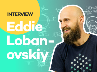The Design Hour Episode 1 with Eddie Lobanovskiy logo design brand design typography print mobile product design design logo branding illustration web design podcast youtube interview eddie lobanovskiy