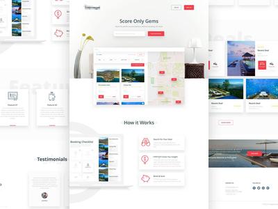 Hotel Finder Homepage