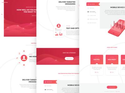 RedMetrics Homepage