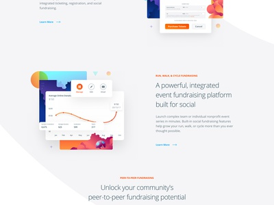 Liquid Hover Card Animations gradient clean user interface homepage landing parallax ui responsive minimal web website liquid interface illustration animations card hover animation web design product
