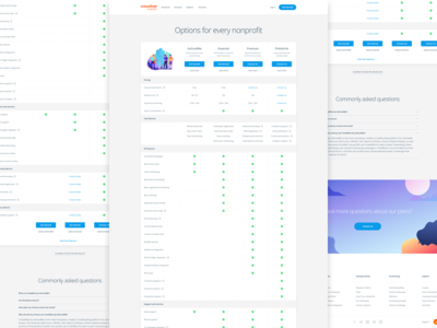 Full Feature List Pricing Page