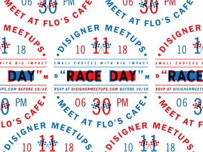 Come hang out with us today at @DisignerMeetups after work! disigner meetups meetup community racing branded branding brand design logo typography type race cars fan art disneyland disney