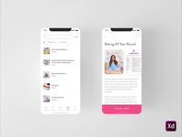 Rosanna Pansino Concept App Shop @rosannapansino