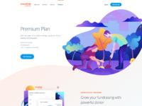 Peter deltondo unfold crowdrise by gofundme premium plan attachment