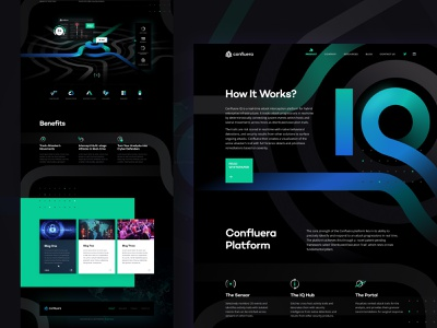 Security Product Page homepage landing illustration gradient product interface website web web design ui