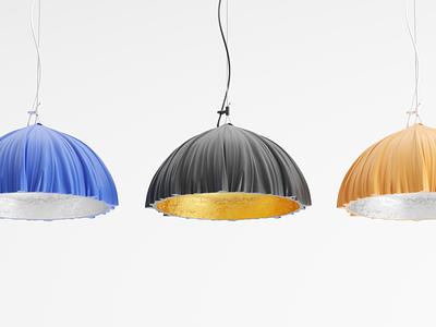 mystery lamp fun gold 3dsmax design concept 3d