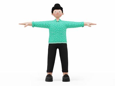 character design animation 3d design concept c4d illustration