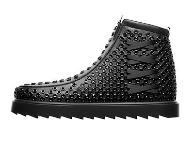 Footwear concept 3d