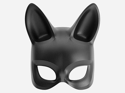 Mask design illustration 3d