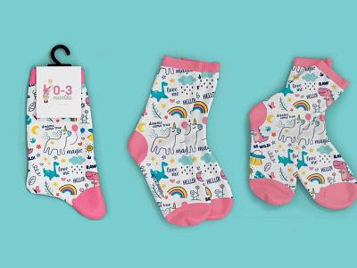 Baby Socks Mockup design ux vector illustration ui logo branding psd menu template