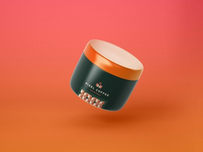 New Beauty Care Mockup illustration branding psd template design mockup care beauty new