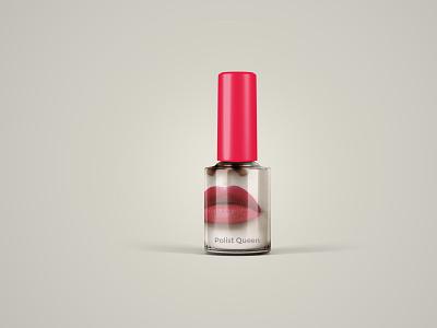 Nail Polish Mockup Collection cool fresh illustration branding psd design new collection mockup nail polish