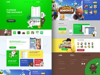 Line Website Redesign (Concept)