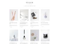 Yugen - Free WordPress Blog Theme
